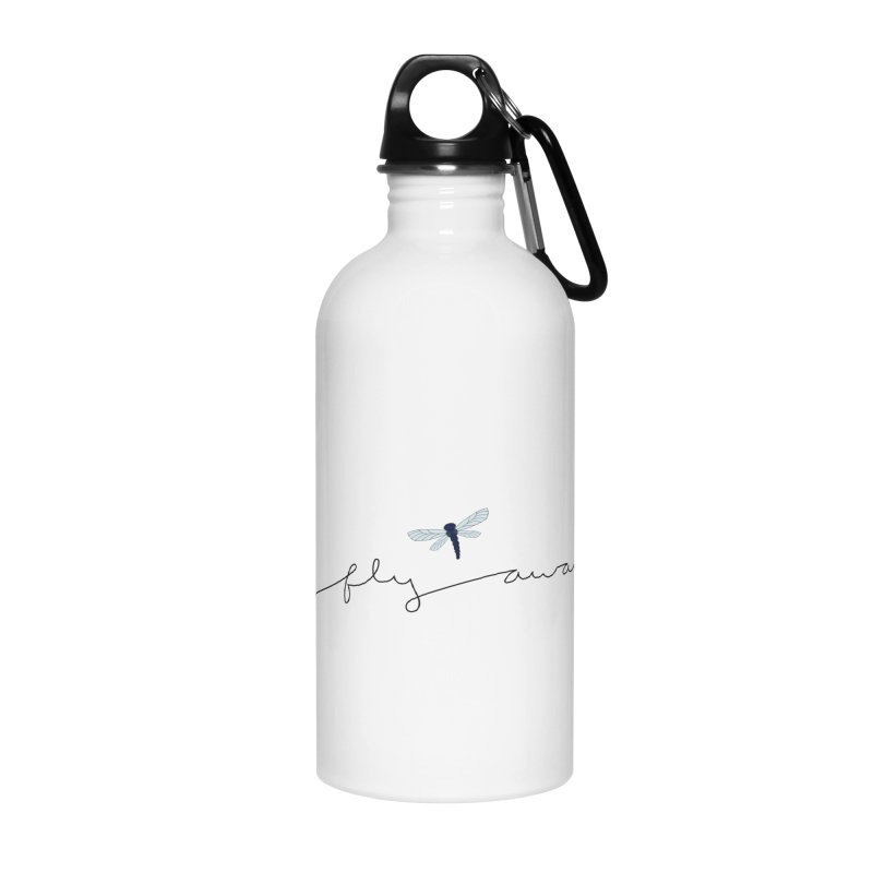 Fly Away Accessories Water Bottle by LadyBaigStudio's Artist Shop