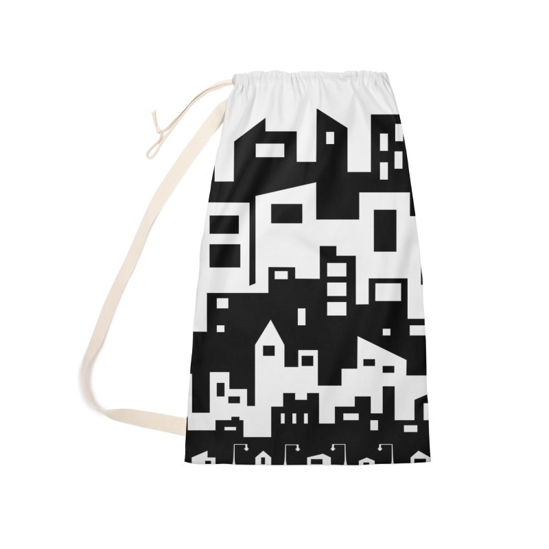 Stacked Cityscape Accessories Bag by LadyBaigStudio's Artist Shop