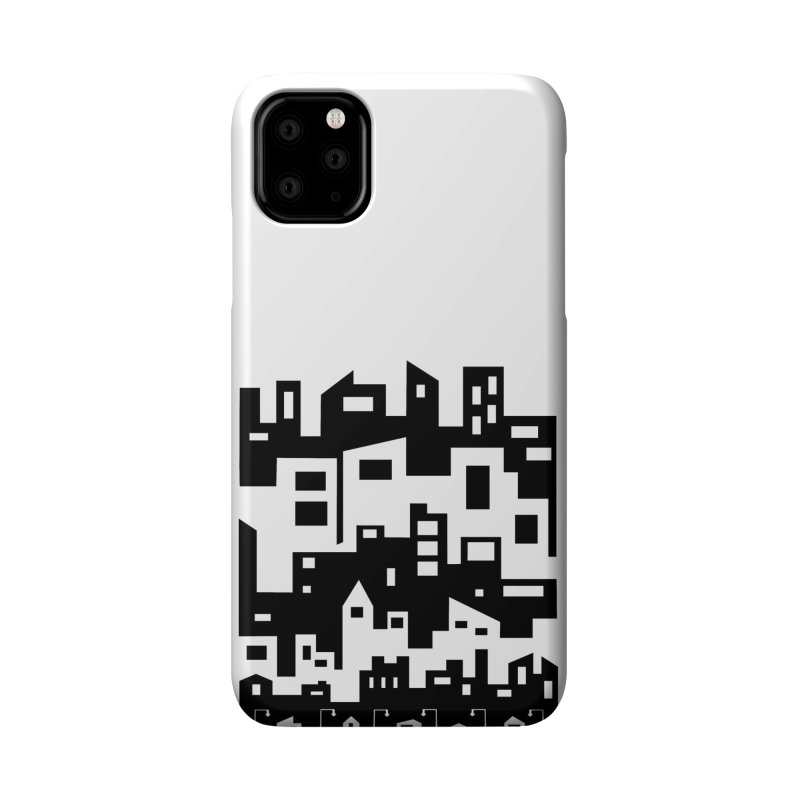 Stacked Cityscape Accessories Phone Case by LadyBaigStudio's Artist Shop
