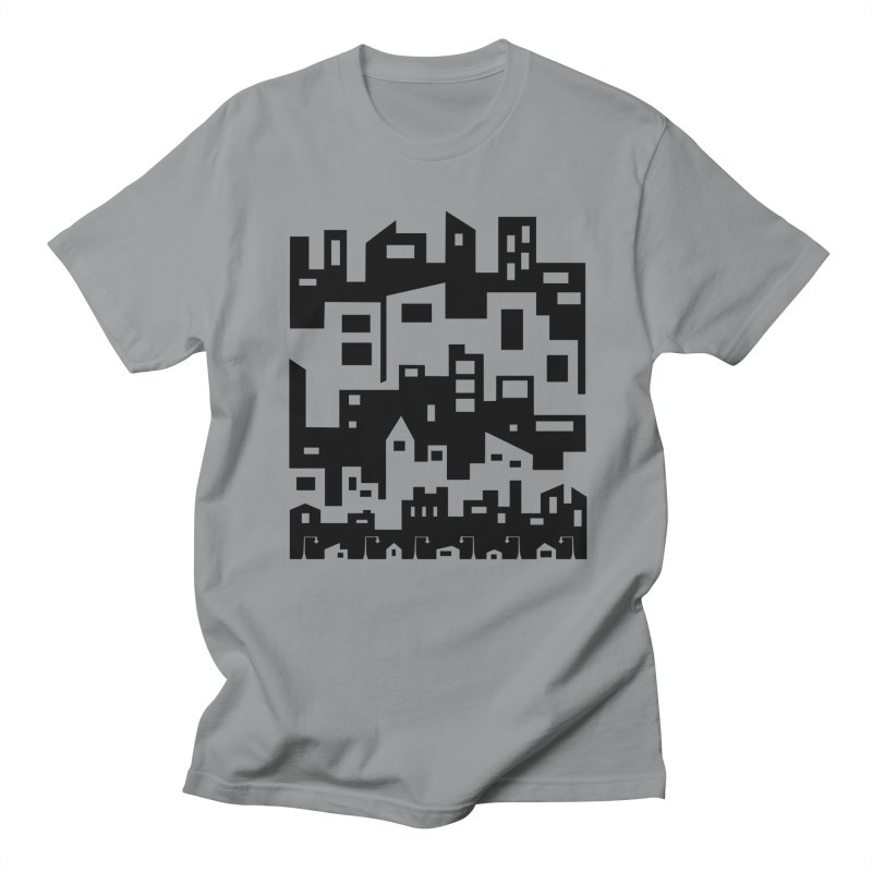 Stacked Cityscape Women's Regular Unisex T-Shirt by LadyBaigStudio's Artist Shop