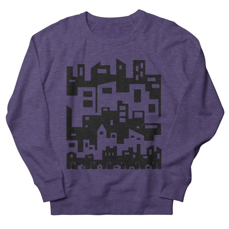 Stacked Cityscape Women's Sweatshirt by LadyBaigStudio's Artist Shop
