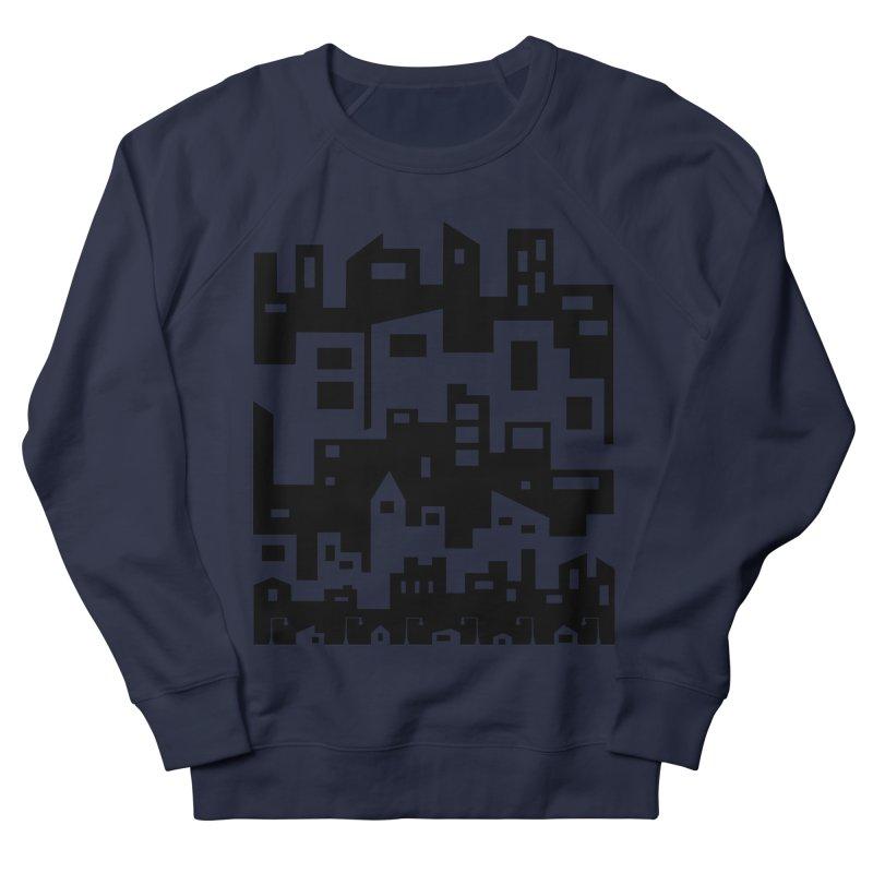 Stacked Cityscape Men's Sweatshirt by LadyBaigStudio's Artist Shop