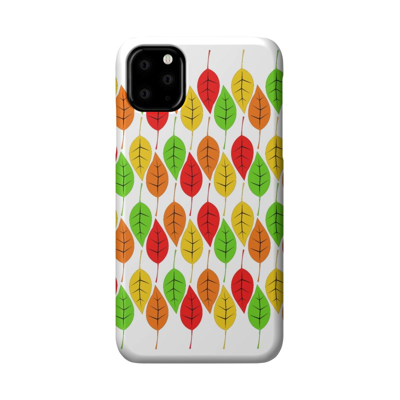 Cascading Autumn Leaves Accessories Phone Case by LadyBaigStudio's Artist Shop