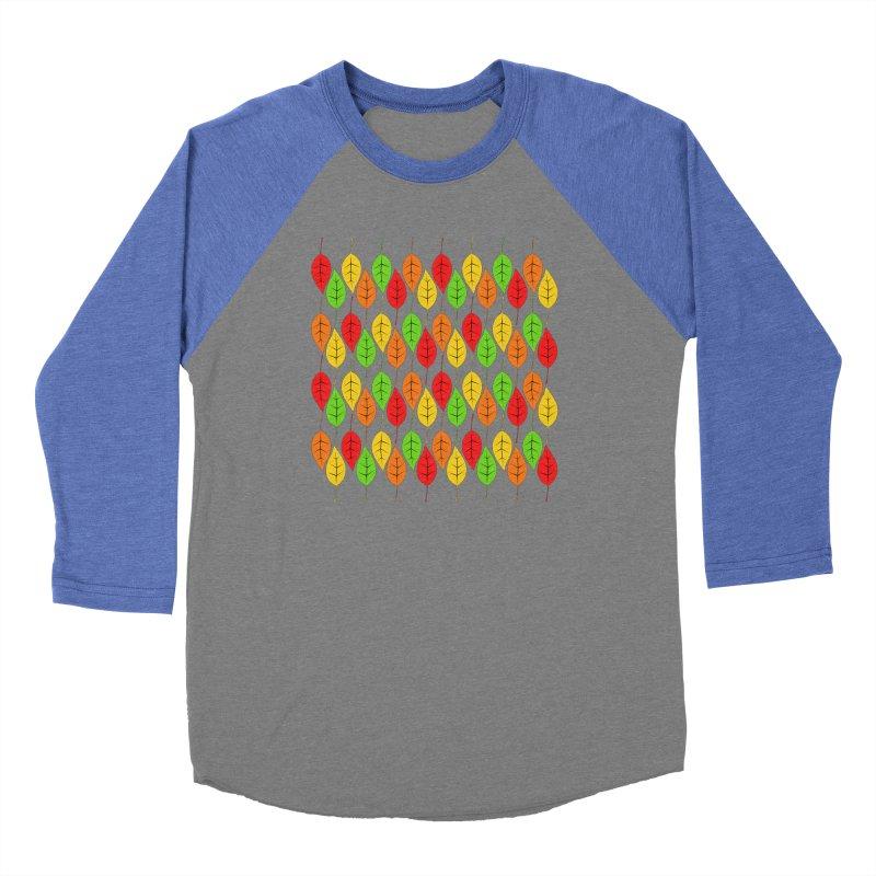 Cascading Autumn Leaves Women's Longsleeve T-Shirt by LadyBaigStudio's Artist Shop