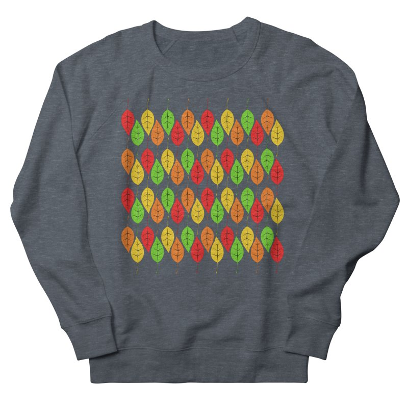 Cascading Autumn Leaves Men's Sweatshirt by LadyBaigStudio's Artist Shop