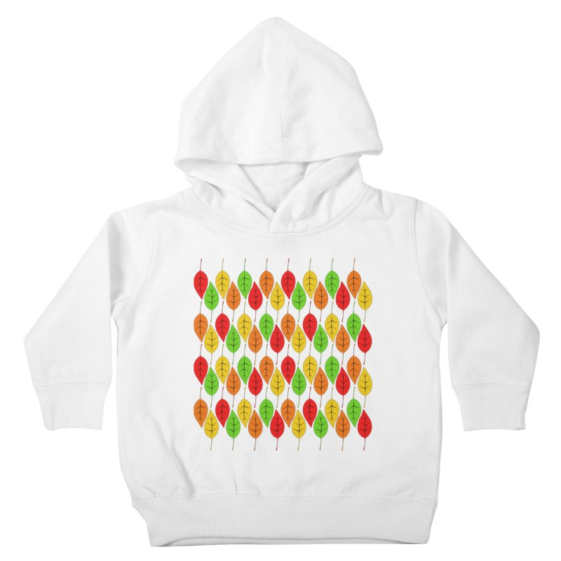 Cascading Autumn Leaves Kids Toddler Pullover Hoody by LadyBaigStudio's Artist Shop