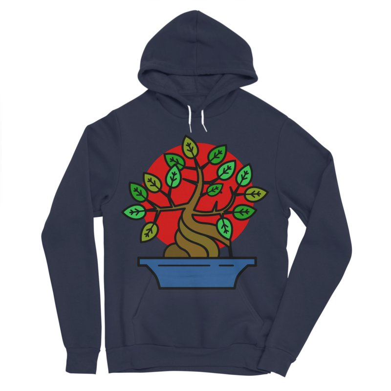 Bonsai Tree Women's Sponge Fleece Pullover Hoody by LadyBaigStudio's Artist Shop