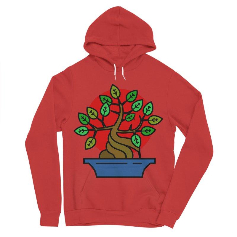Bonsai Tree Men's Pullover Hoody by LadyBaigStudio's Artist Shop