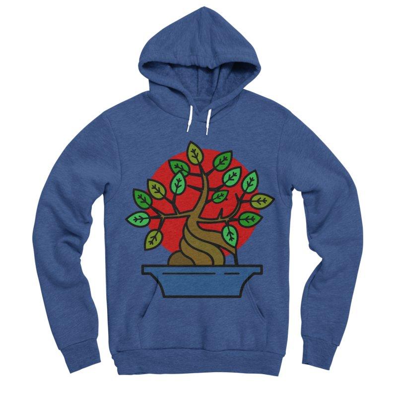 Bonsai Tree Men's Sponge Fleece Pullover Hoody by LadyBaigStudio's Artist Shop
