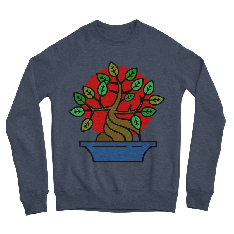 Bonsai Tree Women's Sponge Fleece Sweatshirt by LadyBaigStudio's Artist Shop