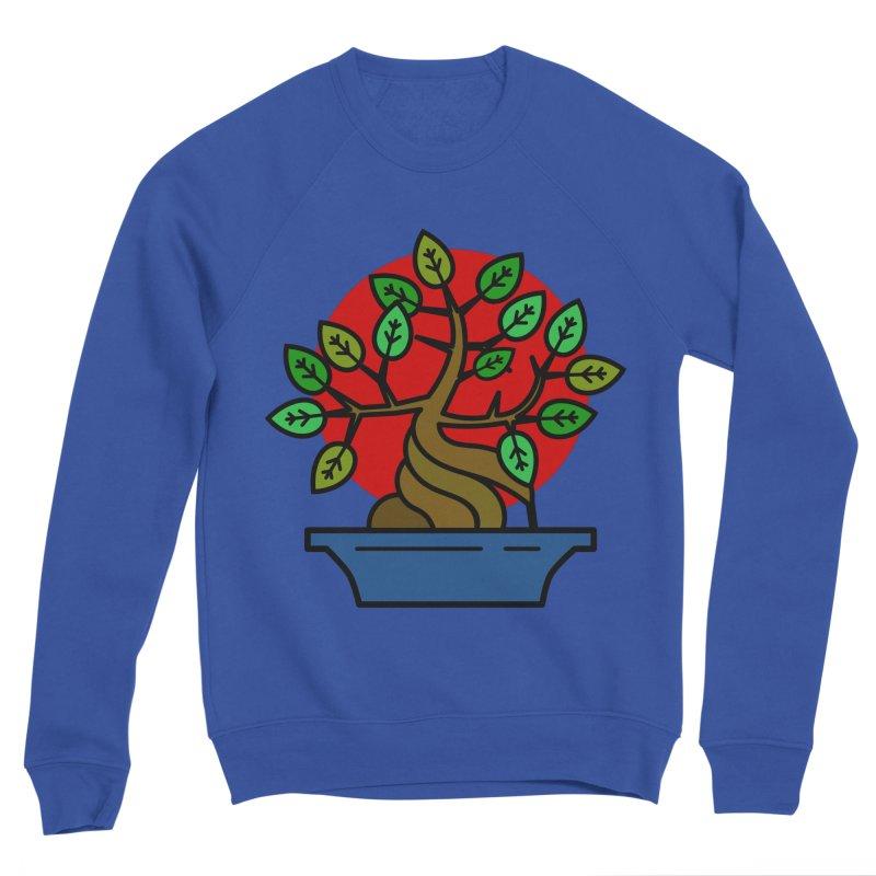 Bonsai Tree Men's Sponge Fleece Sweatshirt by LadyBaigStudio's Artist Shop