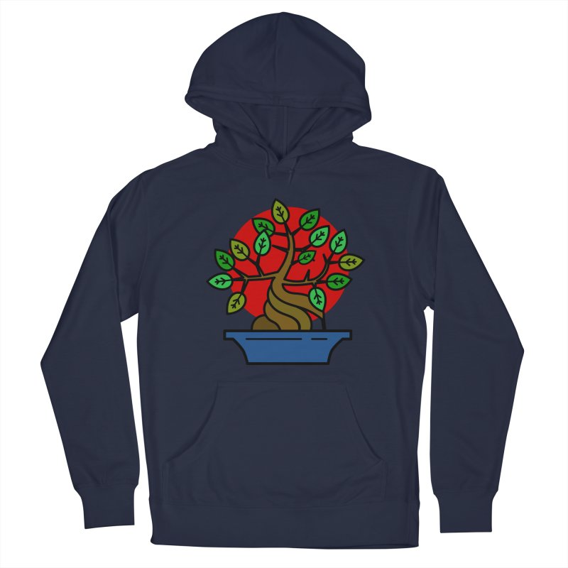 Bonsai Tree Men's Pullover Hoody by LadyBaigStudio's Artist Shop