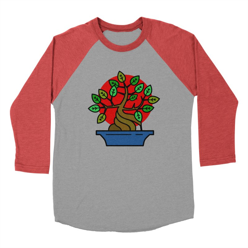 Bonsai Tree Men's Longsleeve T-Shirt by LadyBaigStudio's Artist Shop