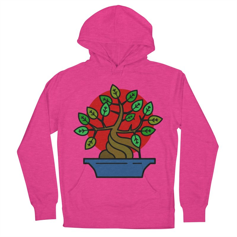 Bonsai Tree Women's French Terry Pullover Hoody by LadyBaigStudio's Artist Shop