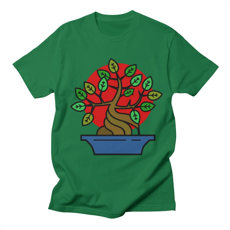 Bonsai Tree Men's T-Shirt by LadyBaigStudio's Artist Shop