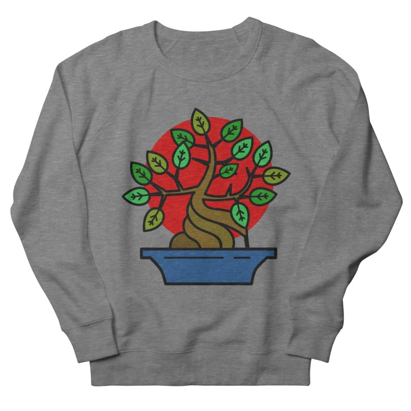 Bonsai Tree Women's French Terry Sweatshirt by LadyBaigStudio's Artist Shop