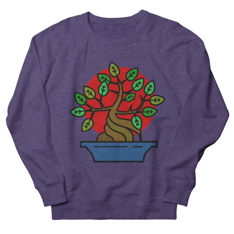Bonsai Tree Men's French Terry Sweatshirt by LadyBaigStudio's Artist Shop