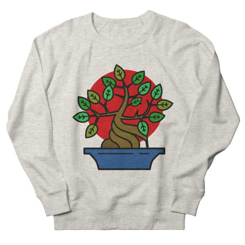 Bonsai Tree Men's Sweatshirt by LadyBaigStudio's Artist Shop