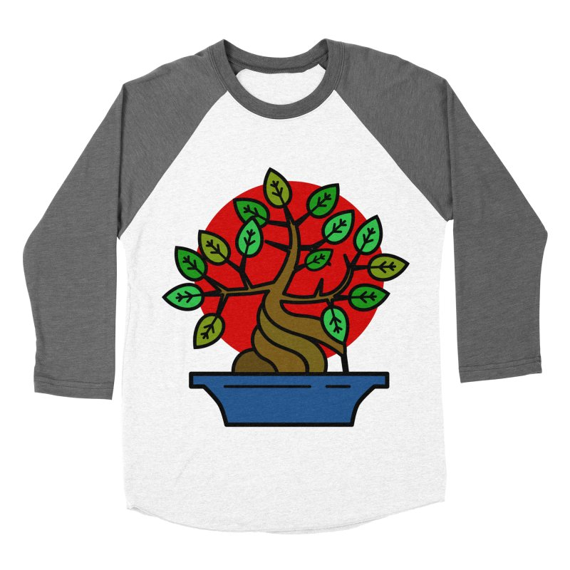 Bonsai Tree Women's Longsleeve T-Shirt by LadyBaigStudio's Artist Shop