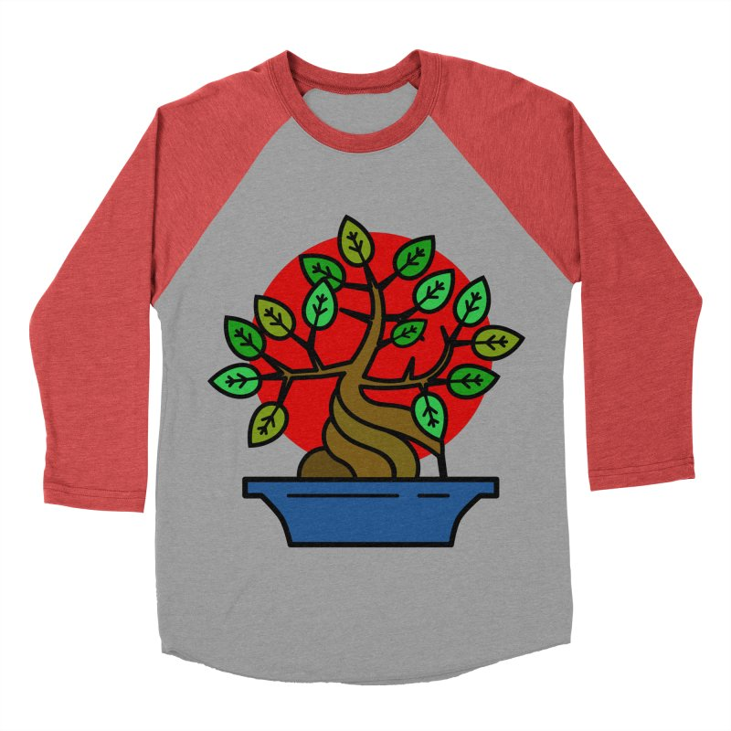 Bonsai Tree Women's Baseball Triblend Longsleeve T-Shirt by LadyBaigStudio's Artist Shop