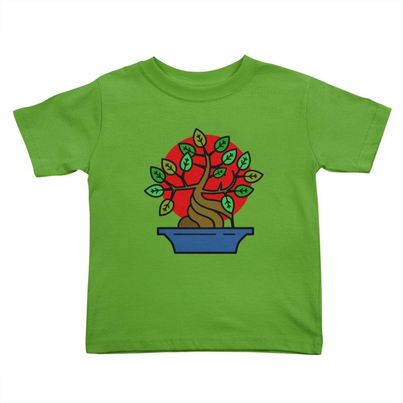 Bonsai Tree Kids Toddler T-Shirt by LadyBaigStudio's Artist Shop
