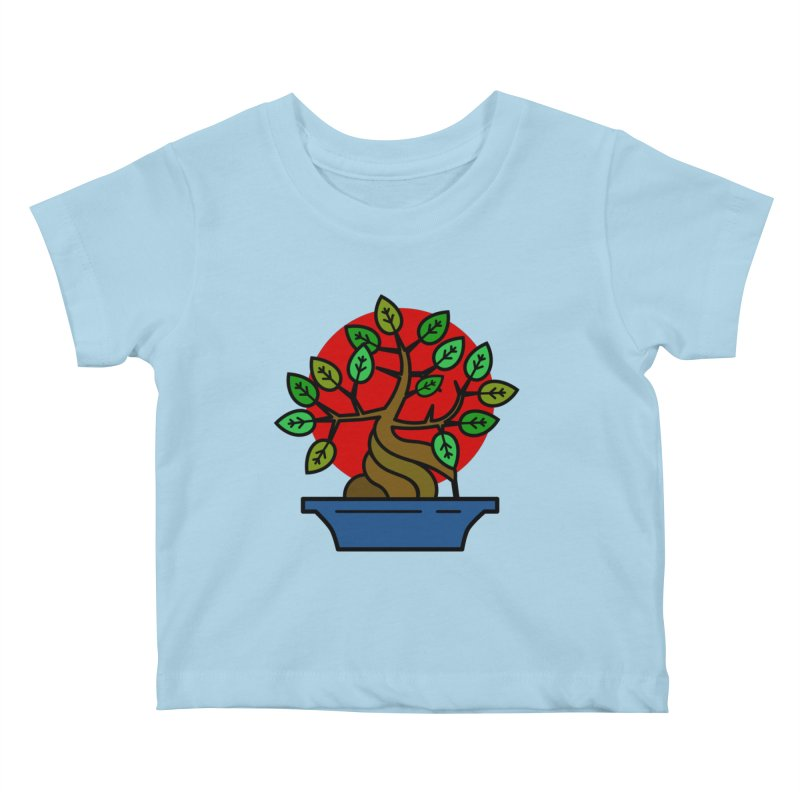 Bonsai Tree Kids Baby T-Shirt by LadyBaigStudio's Artist Shop