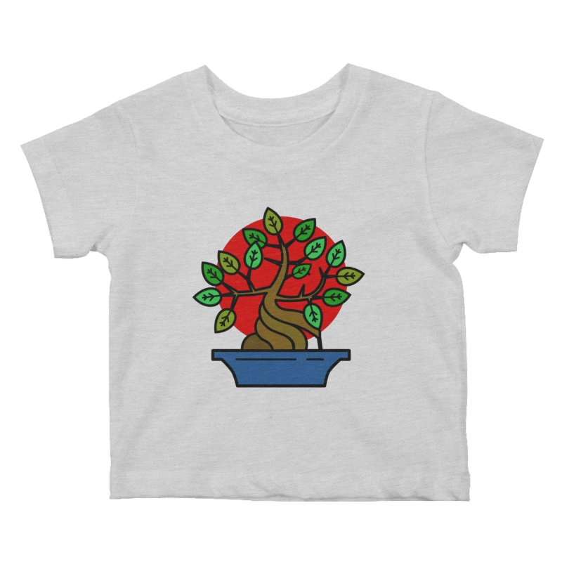 Bonsai Tree Kids Baby T-Shirt by LadyBaigStudio's Artist Shop