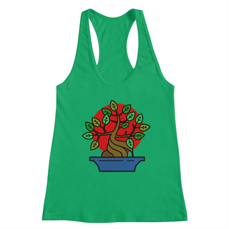 Bonsai Tree Women's Tank by LadyBaigStudio's Artist Shop