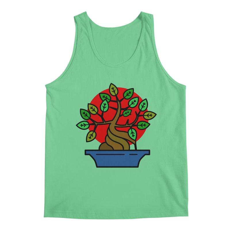 Bonsai Tree Men's Regular Tank by LadyBaigStudio's Artist Shop