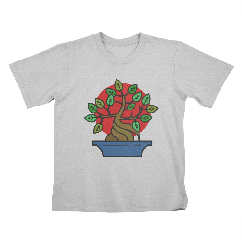Bonsai Tree Kids T-Shirt by LadyBaigStudio's Artist Shop