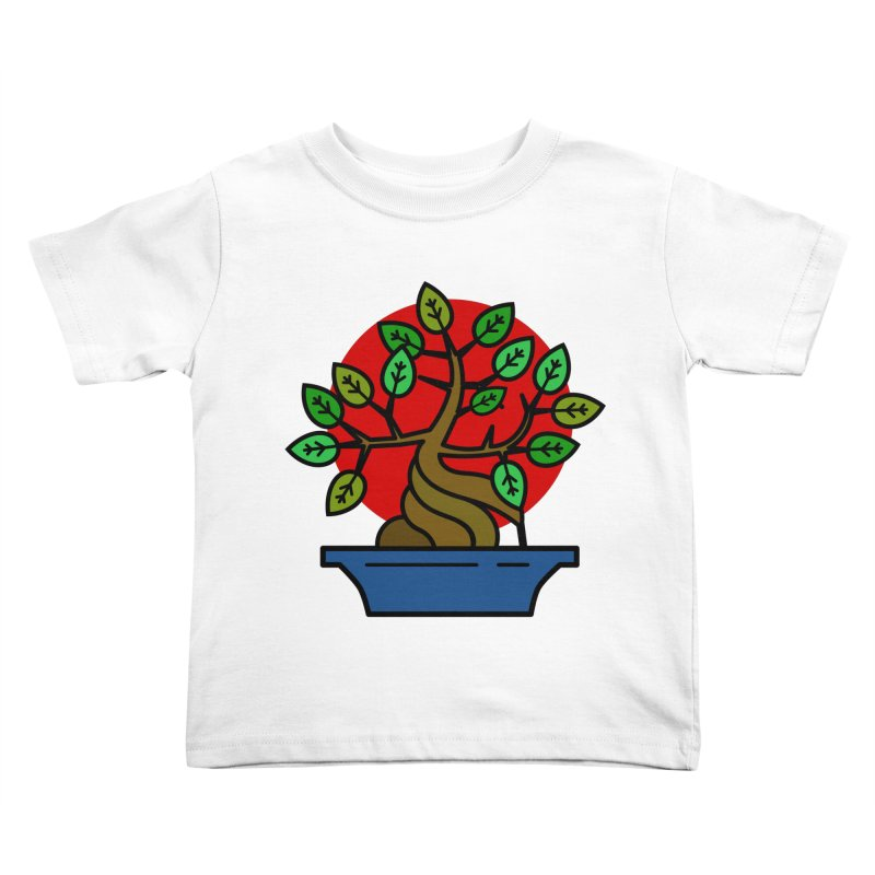 Bonsai Tree Kids Toddler T-Shirt by LadyBaigStudio's Artist Shop