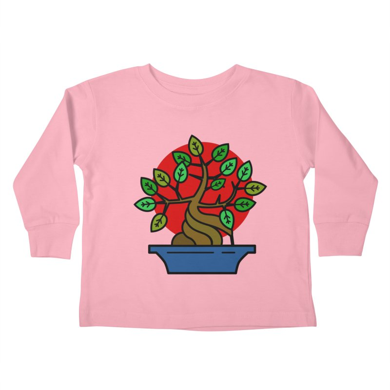 Bonsai Tree Kids Toddler Longsleeve T-Shirt by LadyBaigStudio's Artist Shop