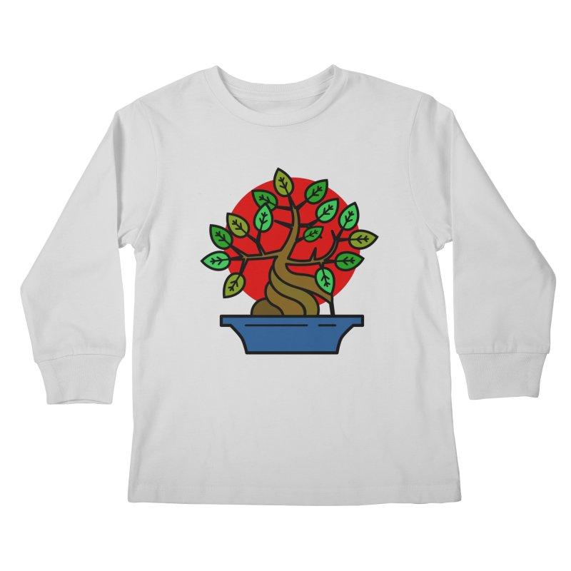 Bonsai Tree Kids Longsleeve T-Shirt by LadyBaigStudio's Artist Shop