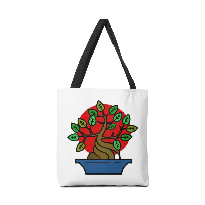 Bonsai Tree Accessories Tote Bag Bag by LadyBaigStudio's Artist Shop
