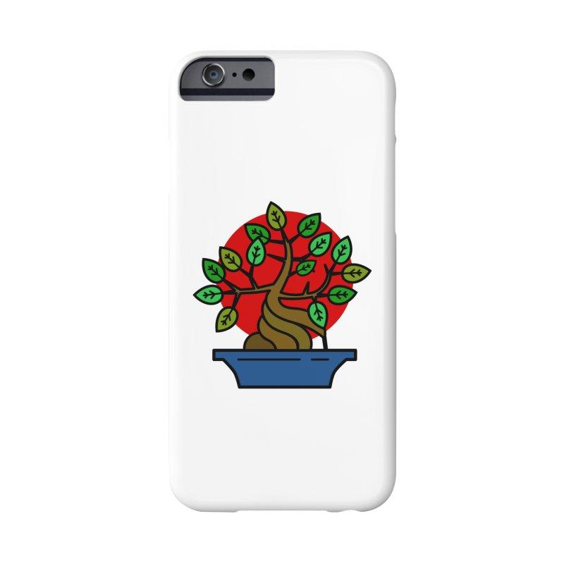Bonsai Tree Accessories Phone Case by LadyBaigStudio's Artist Shop