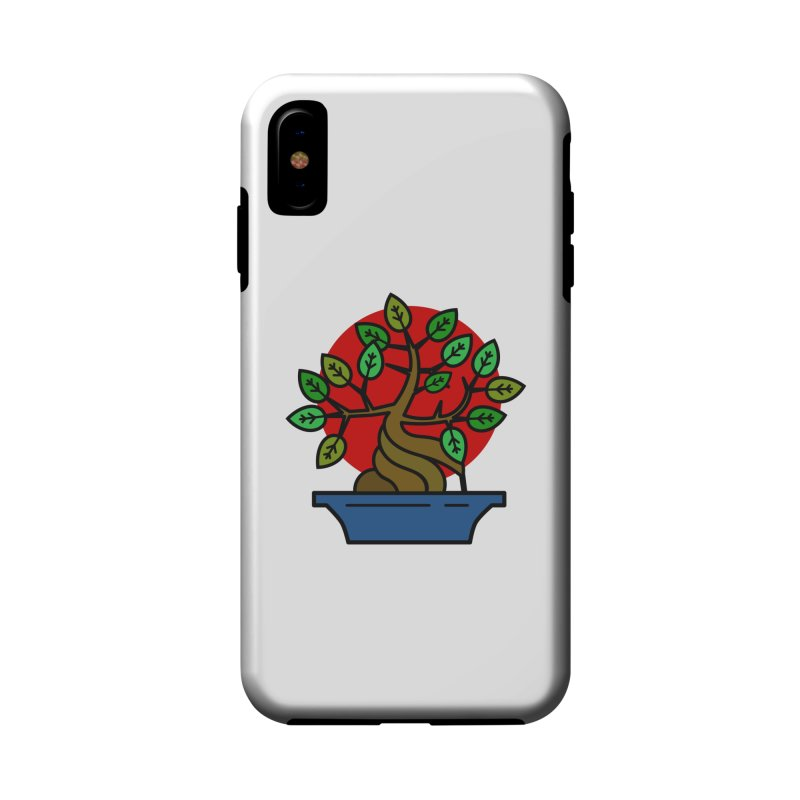 Bonsai Tree Accessories Phone Case by LadyBaigStudio's Artist Shop