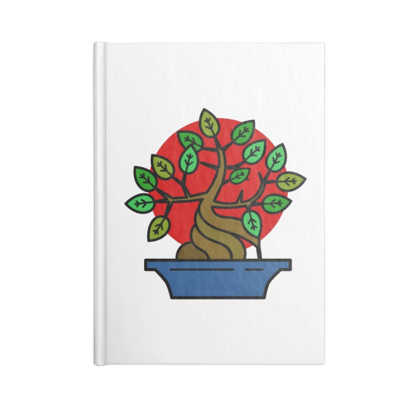 Bonsai Tree Accessories Notebook by LadyBaigStudio's Artist Shop