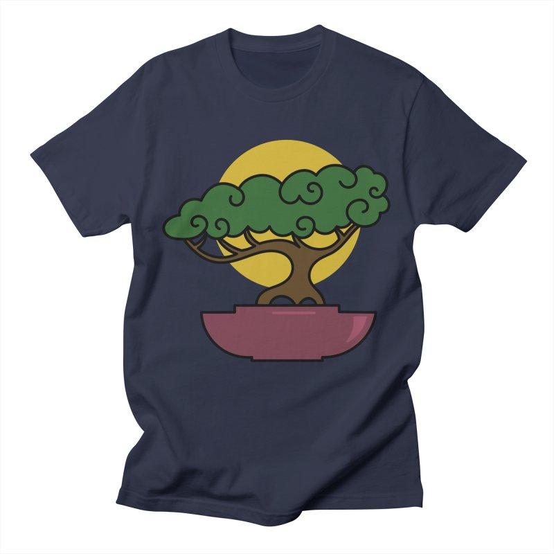 Bonsai Tree #2 Men's T-Shirt by LadyBaigStudio's Artist Shop