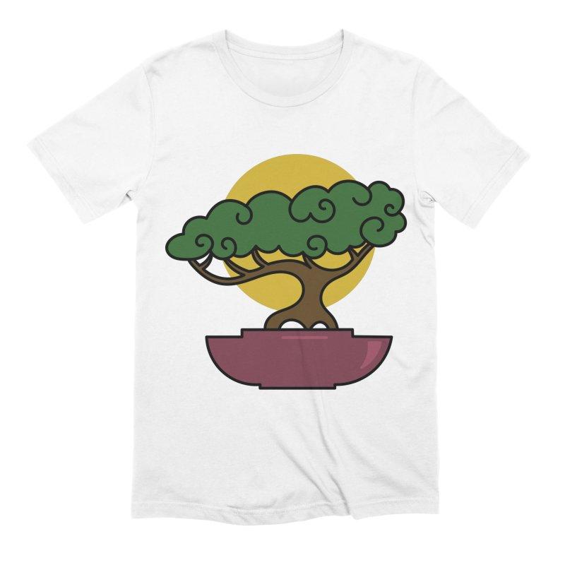 Bonsai Tree #2 Men's Extra Soft T-Shirt by LadyBaigStudio's Artist Shop