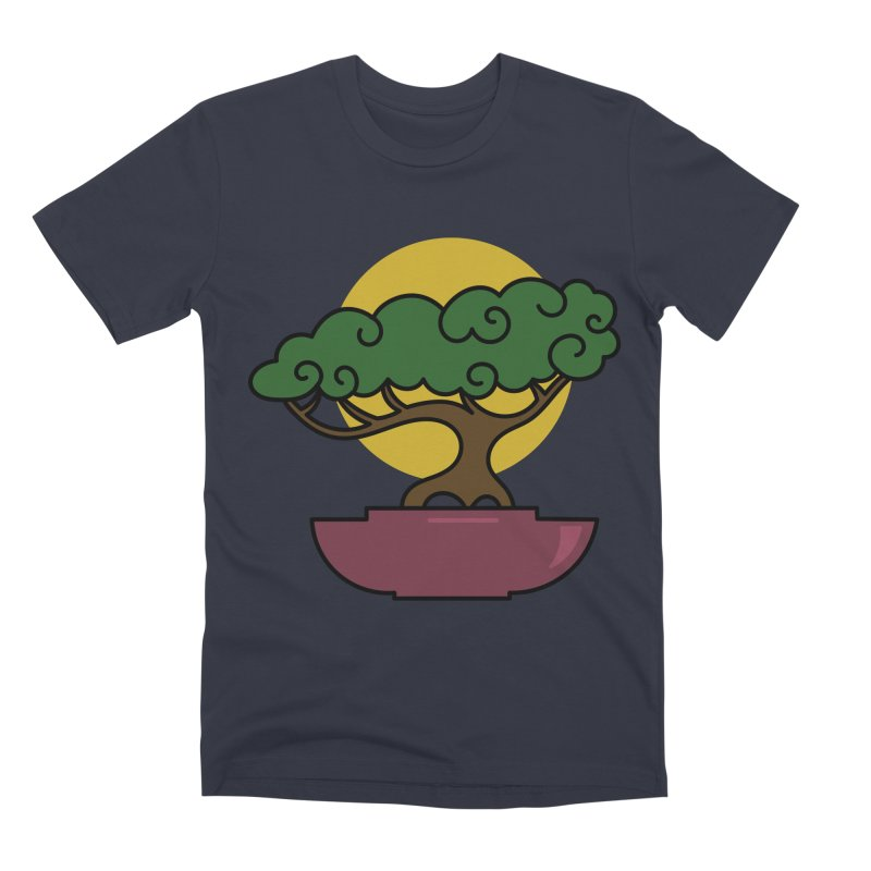 Bonsai Tree #2 Men's Premium T-Shirt by LadyBaigStudio's Artist Shop