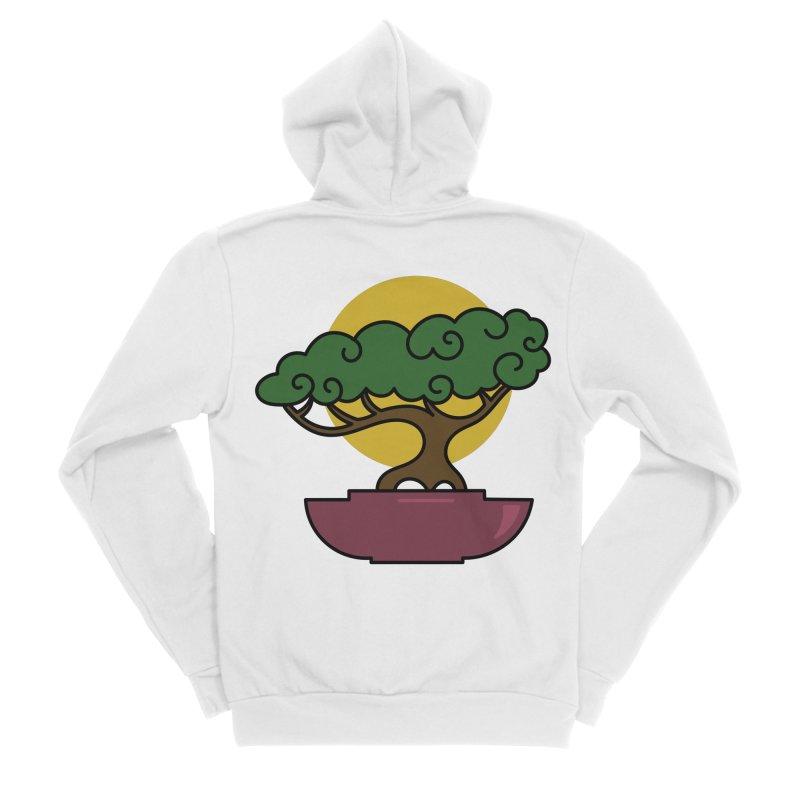Bonsai Tree #2 Men's Zip-Up Hoody by LadyBaigStudio's Artist Shop