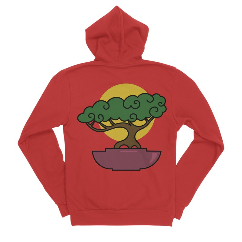 Bonsai Tree #2 Men's Zip-Up Hoody by LadyBaigStudio's Artist Shop