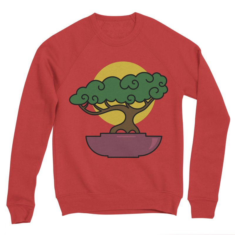 Bonsai Tree #2 Men's Sponge Fleece Sweatshirt by LadyBaigStudio's Artist Shop
