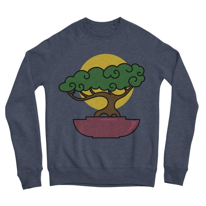 Bonsai Tree #2 Women's Sponge Fleece Sweatshirt by LadyBaigStudio's Artist Shop