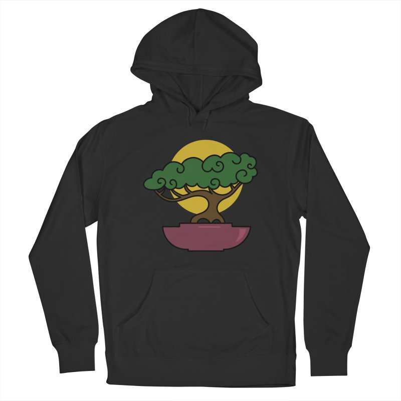 Bonsai Tree #2 Women's French Terry Pullover Hoody by LadyBaigStudio's Artist Shop