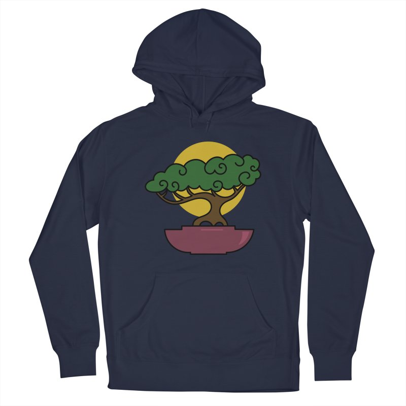 Bonsai Tree #2 Men's Pullover Hoody by LadyBaigStudio's Artist Shop