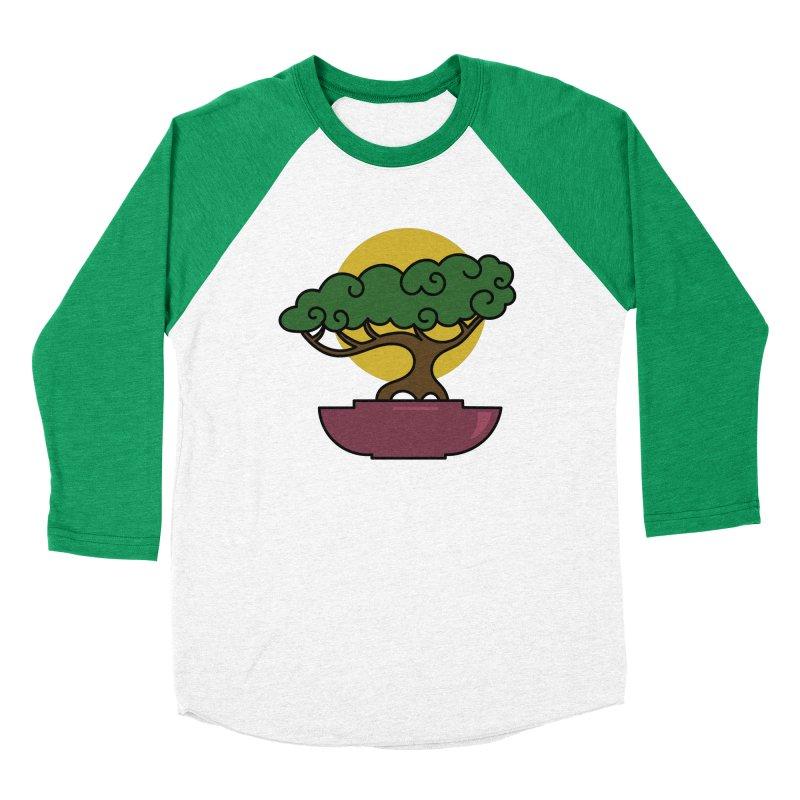 Bonsai Tree #2 Women's Baseball Triblend Longsleeve T-Shirt by LadyBaigStudio's Artist Shop