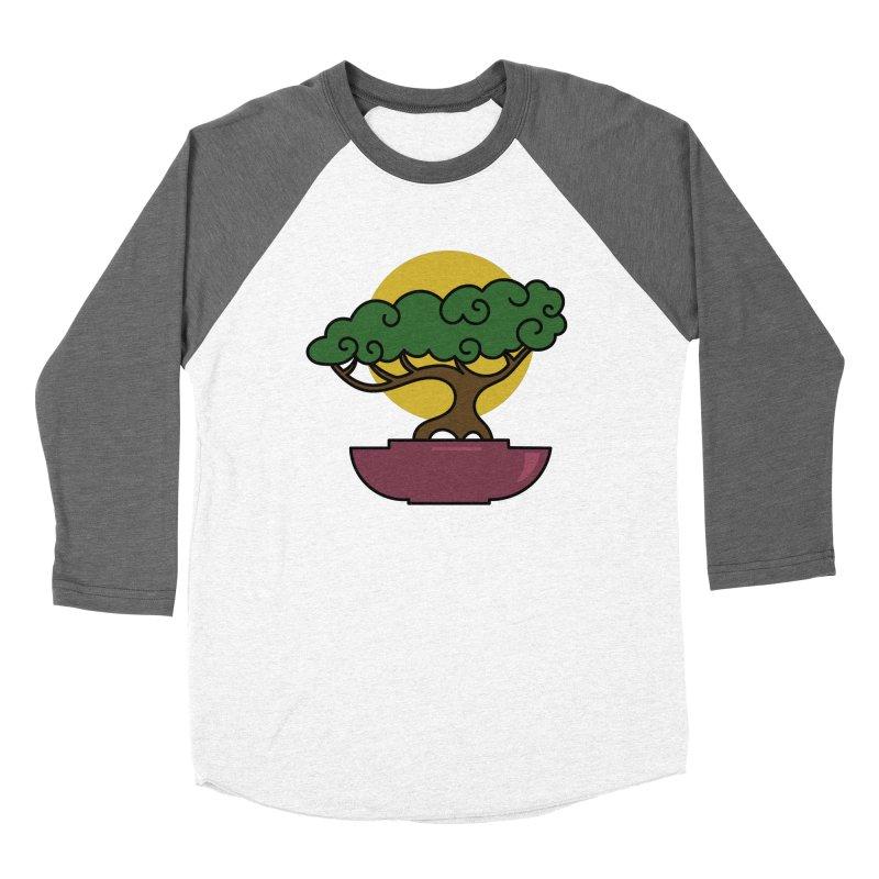 Bonsai Tree #2 Men's Baseball Triblend Longsleeve T-Shirt by LadyBaigStudio's Artist Shop