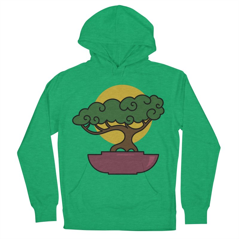 Bonsai Tree #2 Men's French Terry Pullover Hoody by LadyBaigStudio's Artist Shop