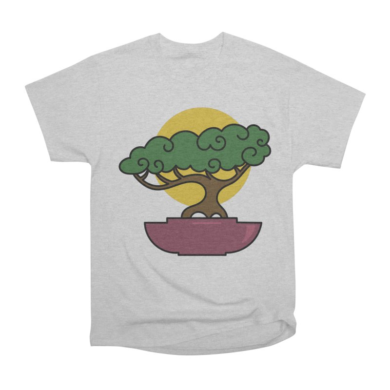 Bonsai Tree #2 Women's Heavyweight Unisex T-Shirt by LadyBaigStudio's Artist Shop